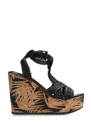Divarese Topuklu Ayakkabı Siyah